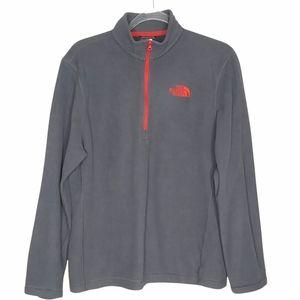 North Face Men's Quarter Zip Pullover Jacket Coat